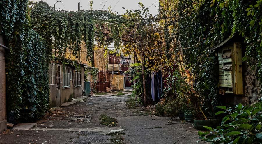 Odessa backstreets