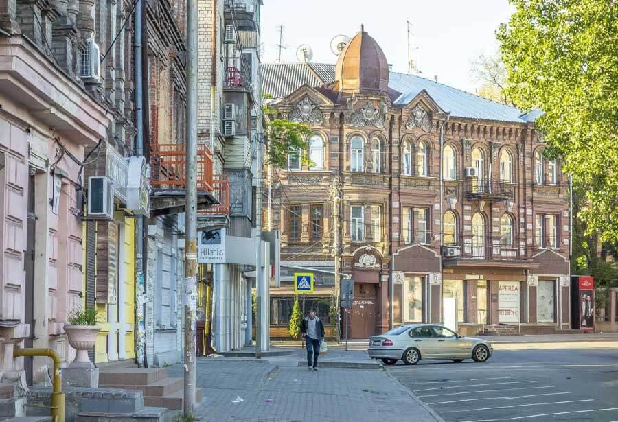 Soviet cities in Ukraine