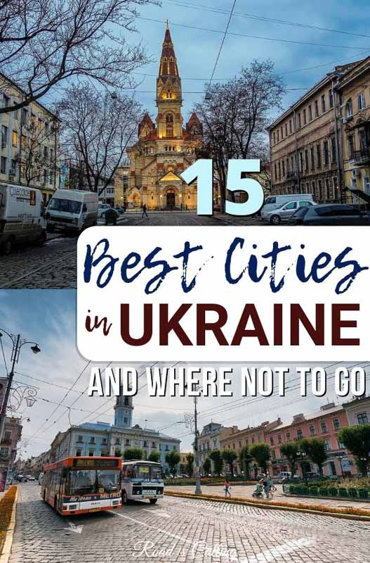 Are you wondering what are the best cities to visit in Ukraine and what is better to avoid? See my post and get an idea where to go on a first visit, what to leave for the second time and which Ukrainian cities are not safe #ukrainetravel #bestofukraine #ukraine #easterneurope