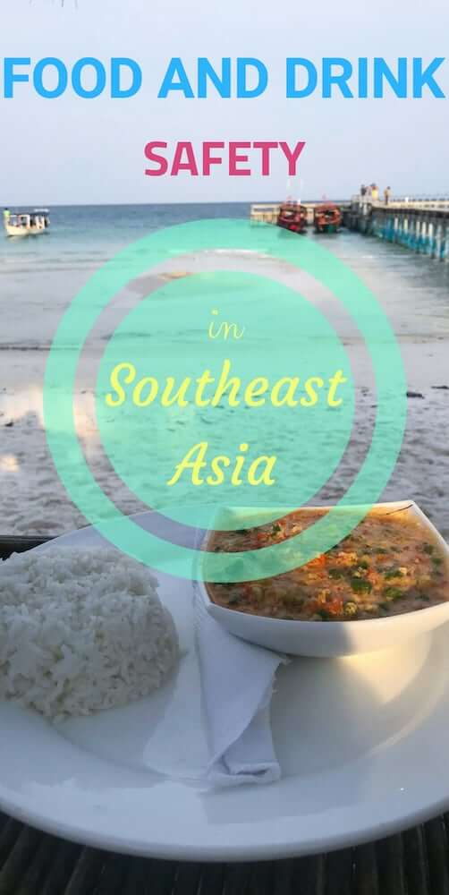 Tips on how to stay healthy while eating your way out anywhere in Southeast Asia. From Thailand, Cambodia and Laos all the way to Indonesia and Philippines #southeastasia #foodinasia