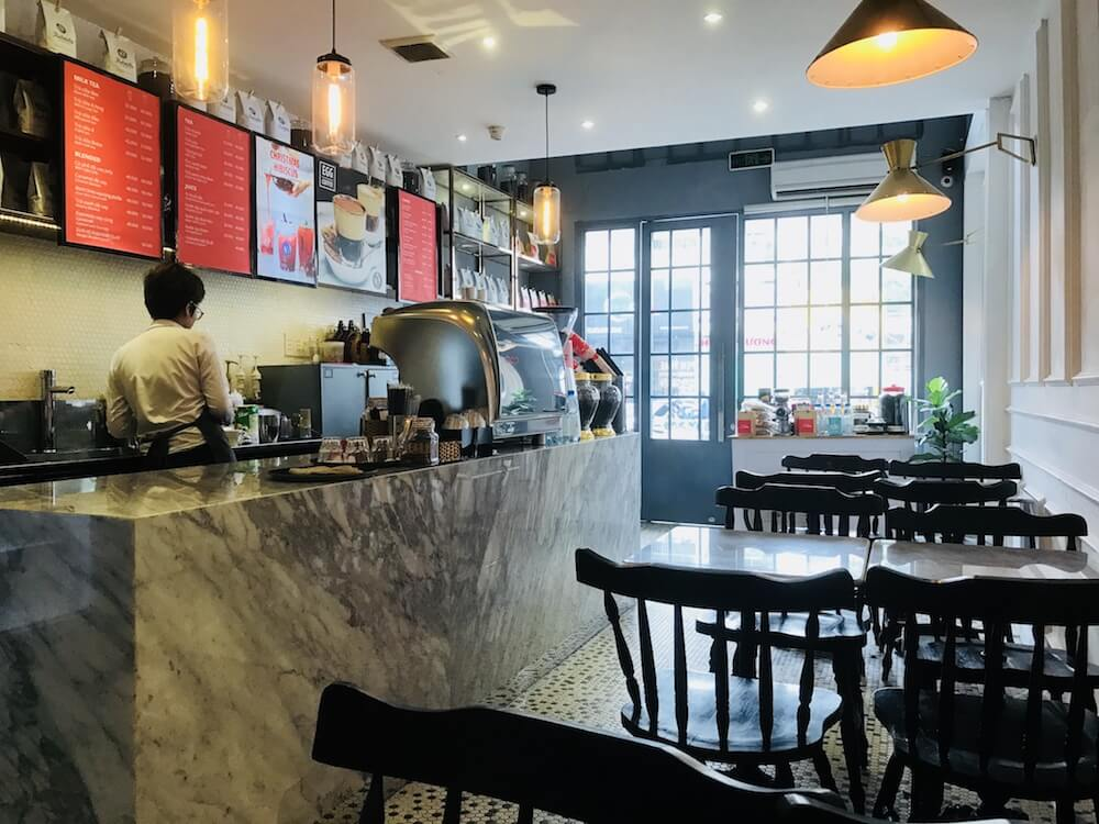 best cafes in saigon