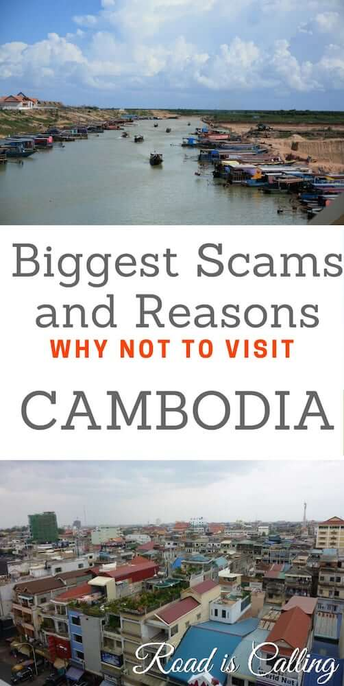 Scams in cambodia are real. There are a lot of them in big cities and small towns around the country. Learn how you can avoid them and what to do in case you get scammed by locals #triptocambodia #cambodiascams #southeastasiasafety