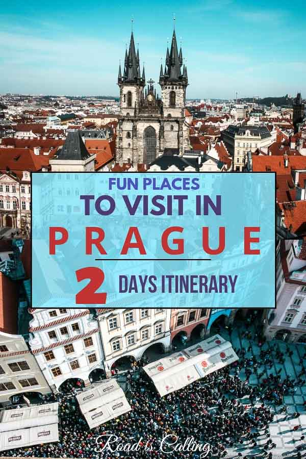 Prague in the Czech Republic is an absolutely magical city. There are tons of things to keep you busy during a longer vacation or quick getaway to this city. Here is the list of the best places to visit in Prague in 2 days, but honestly, you can use them not only in 2 days itinerary to Prague but also in 3 days and even one-week itinerary. Have fun when visiting Prague! #praguetravel #europetravel #czechrepublic #europebudgettravel