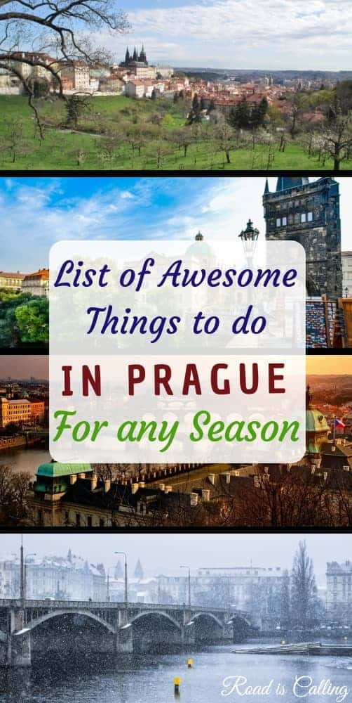 Planning to visit Prague, Czech Republic any time soon? Learn where to go, what things to see and do in Prague during any season. #prague #thingstodoinprague
