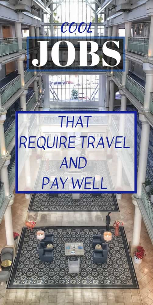 jobs that require travel