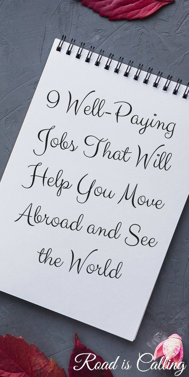 Jobs To See The World