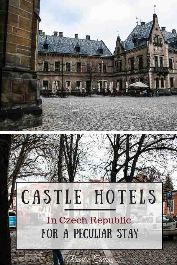 Here are some of the most unique accommodation places around Czech Republic. Either you are traveling with kids, as a solo traveler, with friends or other family members, stay in one of these castle hotels for an extra memorable experience. So here are tips on where to stay in Prague, Cesky Krumlov, Brno and other Czech destinations #placestostay #czechrepublic
