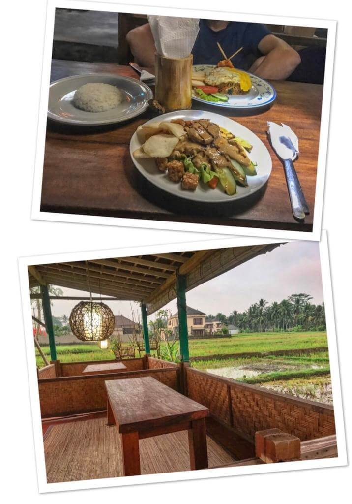Places to eat in Ubud