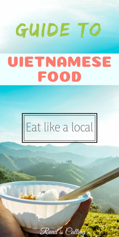 The list of main dishes, snacks, desserts and drinks from Vietnam. Even if you don't travel to Vietnam but would love to try Vietnamese food, this guide will help you understand what to order at the restaurant in your home country and eat like a local #vietnamfood #travelvietnam #bestasianfood
