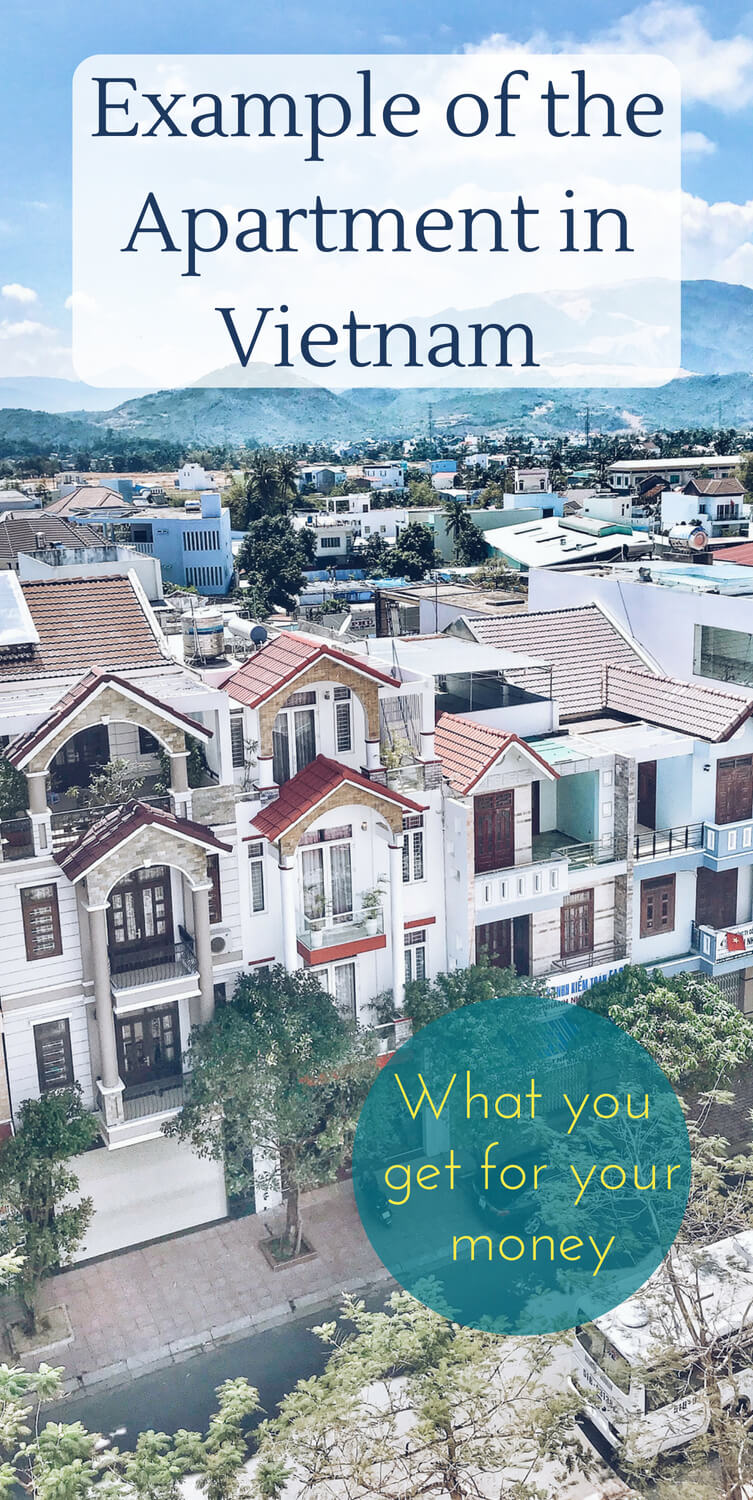 If you are thinking to move to Vietnam and looking for information on how to rent an apartment there, while being on a budget, here is a post to show you what you can expect to rent. Find out how rental flat looks like and how much it costs to rent a home in Saigon (Ho Chi Minh City,) Nha Trang, and Dalat. Travel and live in Vietnam, Southeast Asia. #moveabroad #vietnam #liveabroad #accommodation #asia