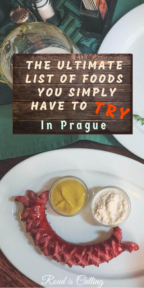 Are you planning to visit Prague and thinking to try some traditional food? I would love to introduce you to local cuisine and provide a list of must try foods in Prague. Once you know the names for Czech dishes, it will become easier to read the menu and place an order. And of course, get a taste of authentic Czech food #praguevisit #foodinprague #easterneurope #whattoeatinprague