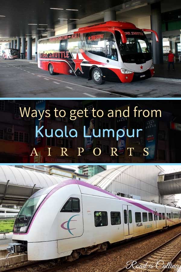 Detailed guide on how to get from any of Kuala Lumpur, Malaysia airports to the city and back. KLIA, KLIA2 and Subang airports transfer. #travelkualalumpur #kualalumpur