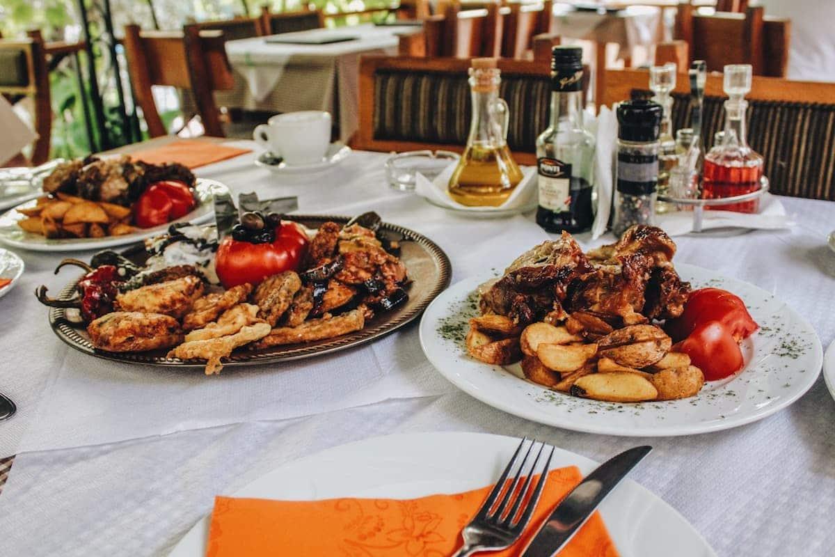 food in montenegro