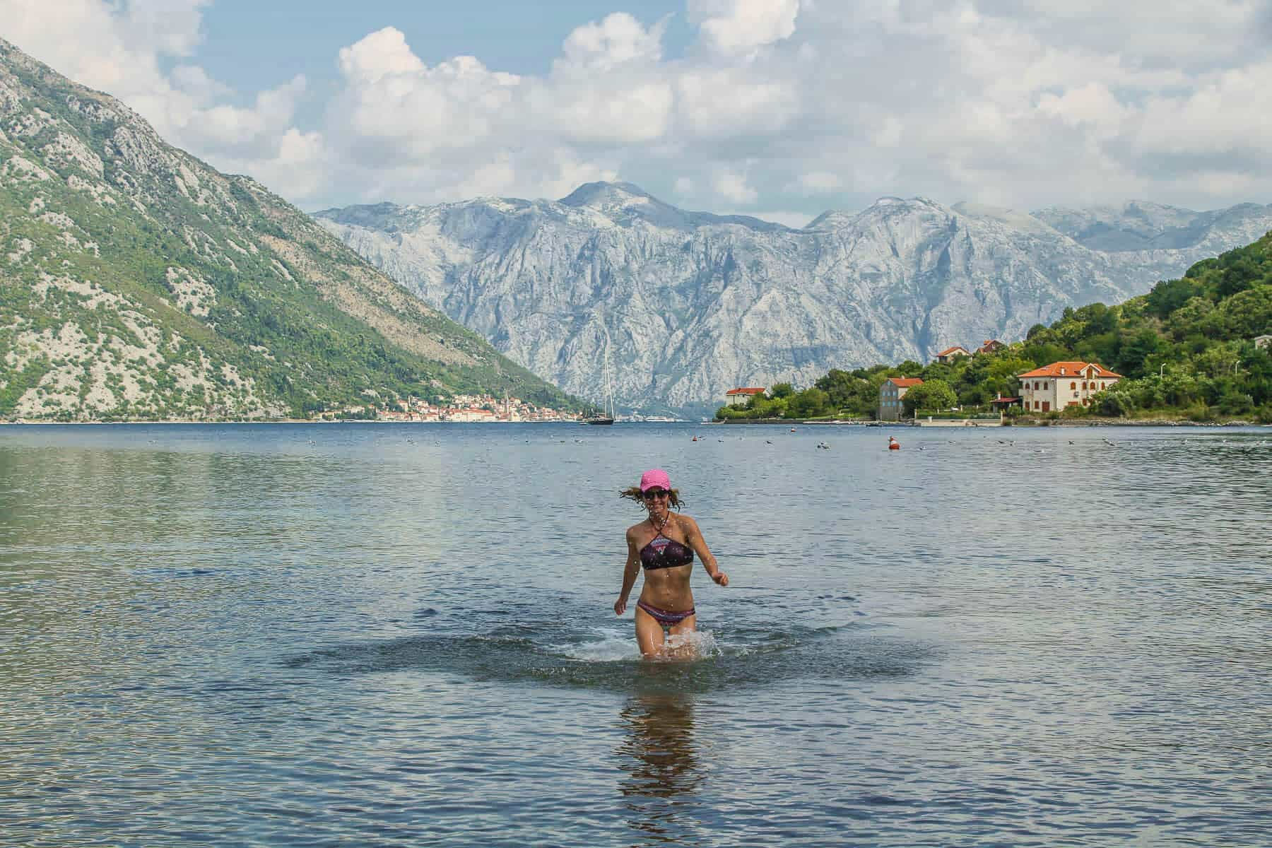 backpacking montenegro