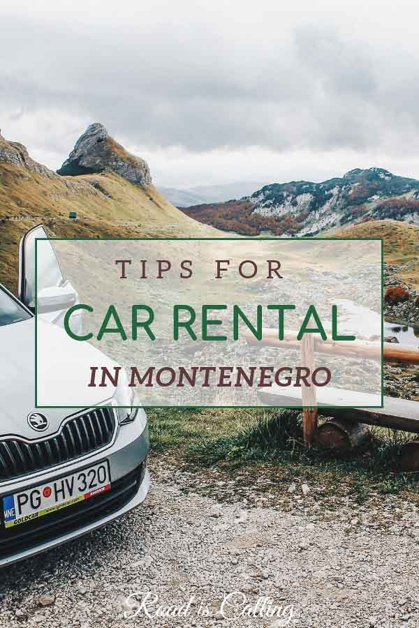 Guide to Montenegro car hire