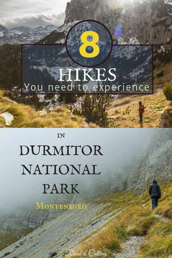 durmitor national park hiking
