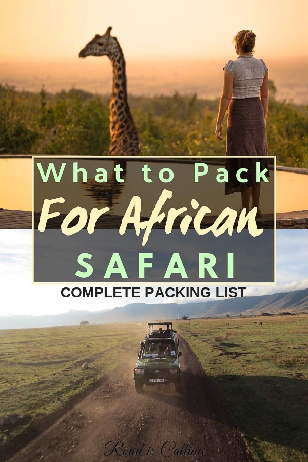 It is important to know not only what to pack for African safari but also what not to pack and better leave at home. Here is a complete packing list for safari so you could enjoy this once in a lifetime adventure in full #packingforsafari