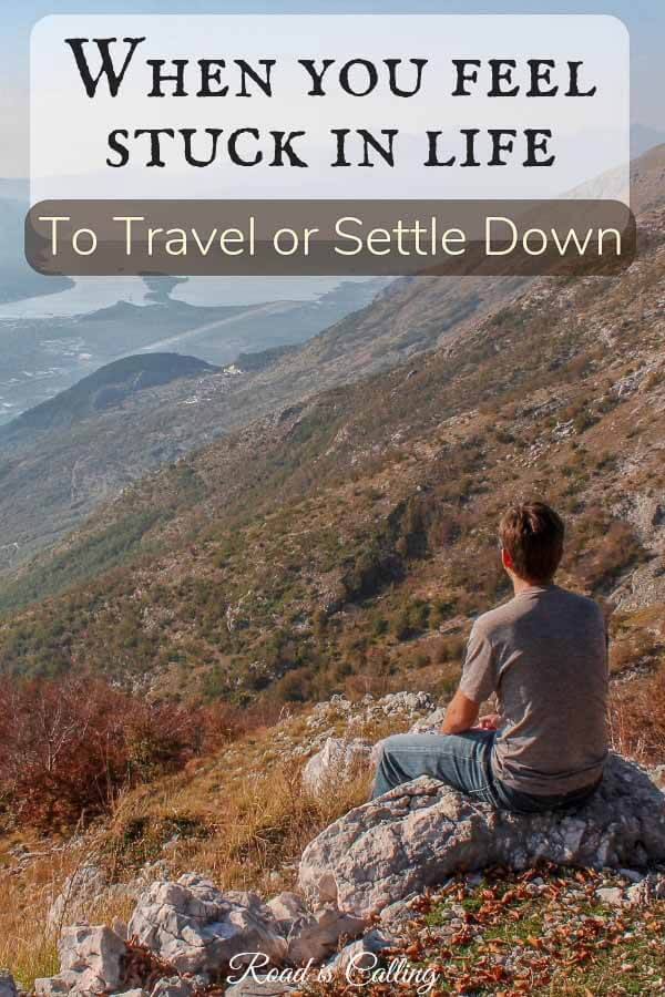 If you turn travel into lifestyle, at some point the moment comes when you feel stuck in life. Click to read what exactly made us feel this way and what we did to move forward #travellife #travelmoments