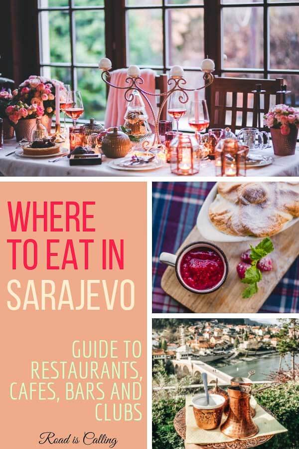 One of the things you must do in Sarajevo is to eat local food. It is cheap, homemade and extremely delicious. Here is a guide to some pretty awesome restaurants, cafes, coffee shops, bars and lounges in Sarajevo. Make sure to visit at least some of them to get to know local cuisine #sarajevotrip #wheretoeatinsarajevo