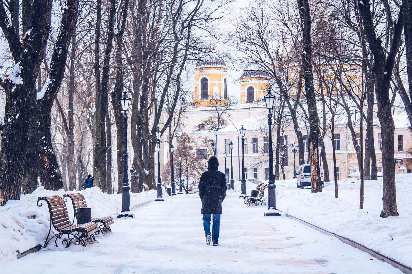 winter in Kyiv
