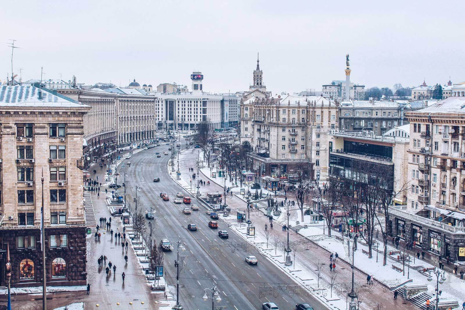 things to do in kiev in winter