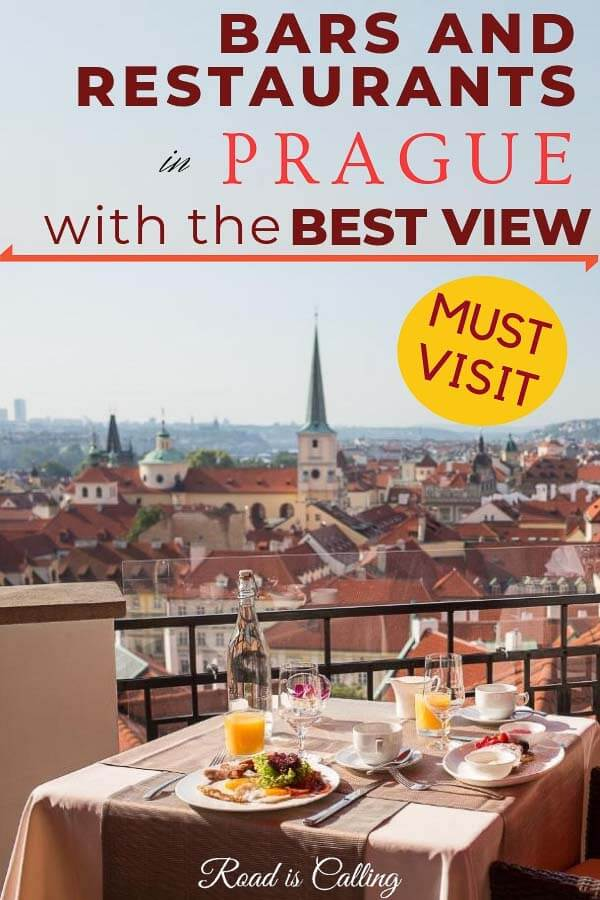 Looking for some amazing bars and restaurants in Prague where you can get a mind-blowing view? Then stop by and check this post. It has all the details where to go in Prague and find those places #praguerestaurants #placestoeatprague #restaurantswithaview #barswithaview