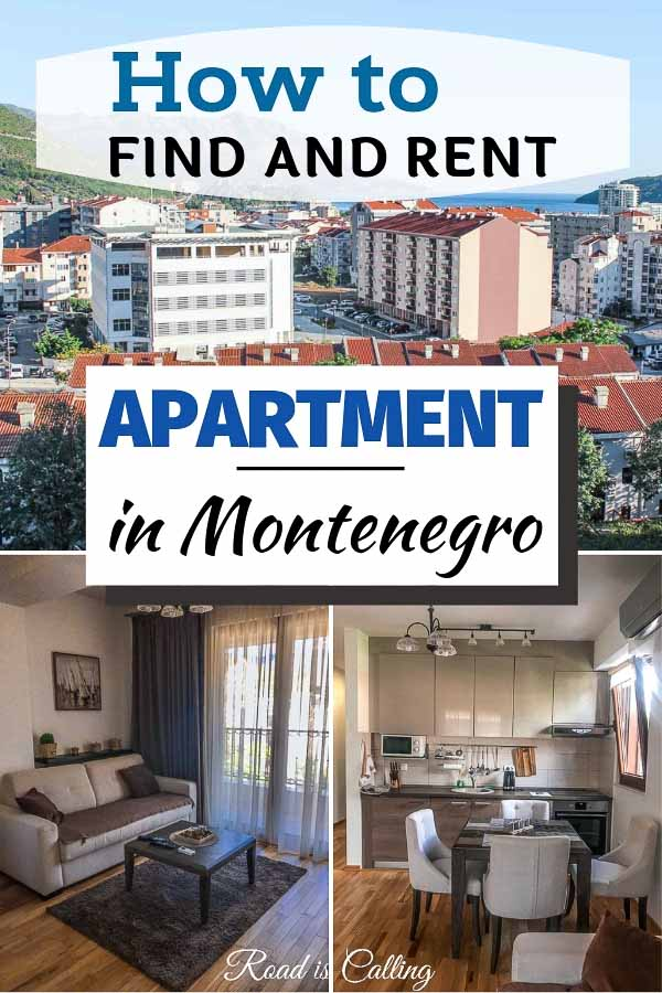 While living in Montenegro as digital nomads we rented three different apartments and learned a lot of details about the rental process. Here are a few tips on how to find and rent an apartment in Montenegro for a short or long stay #montenegrotravel #rentingapartment #traveltipsmontenegro