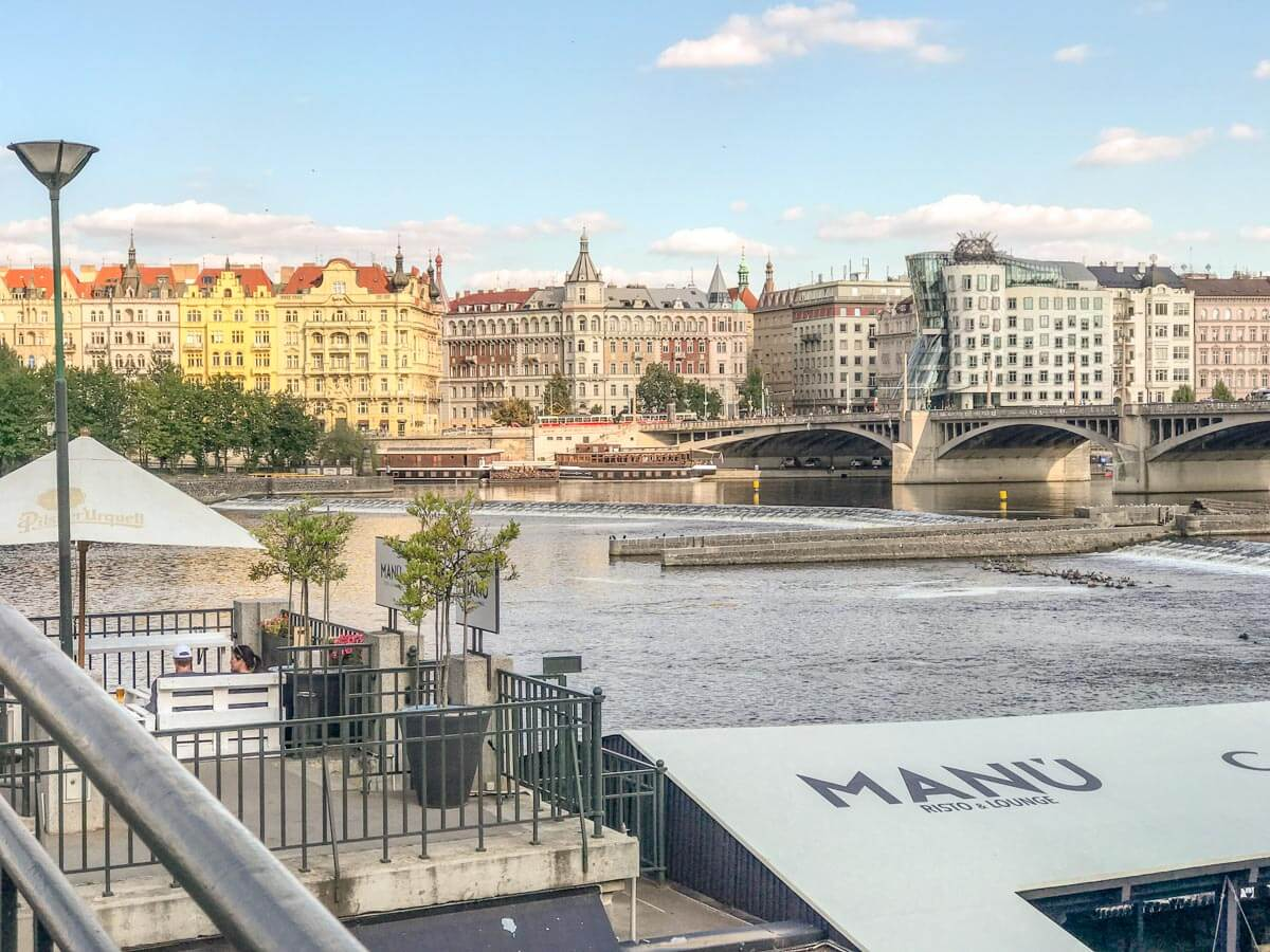 restaurants in Prague with a view