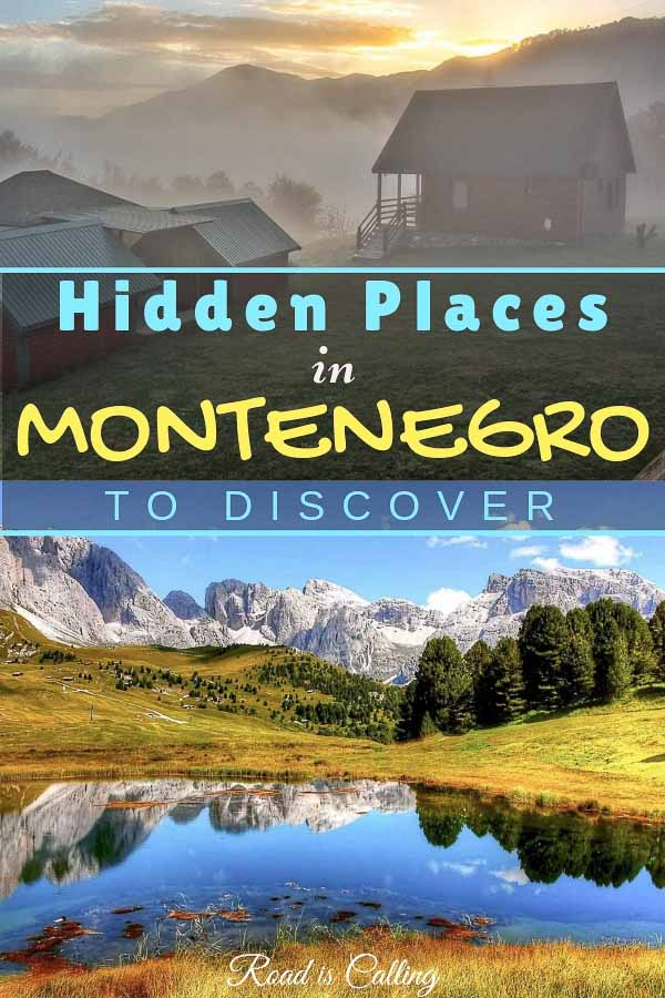 Hidden places in Montenegro