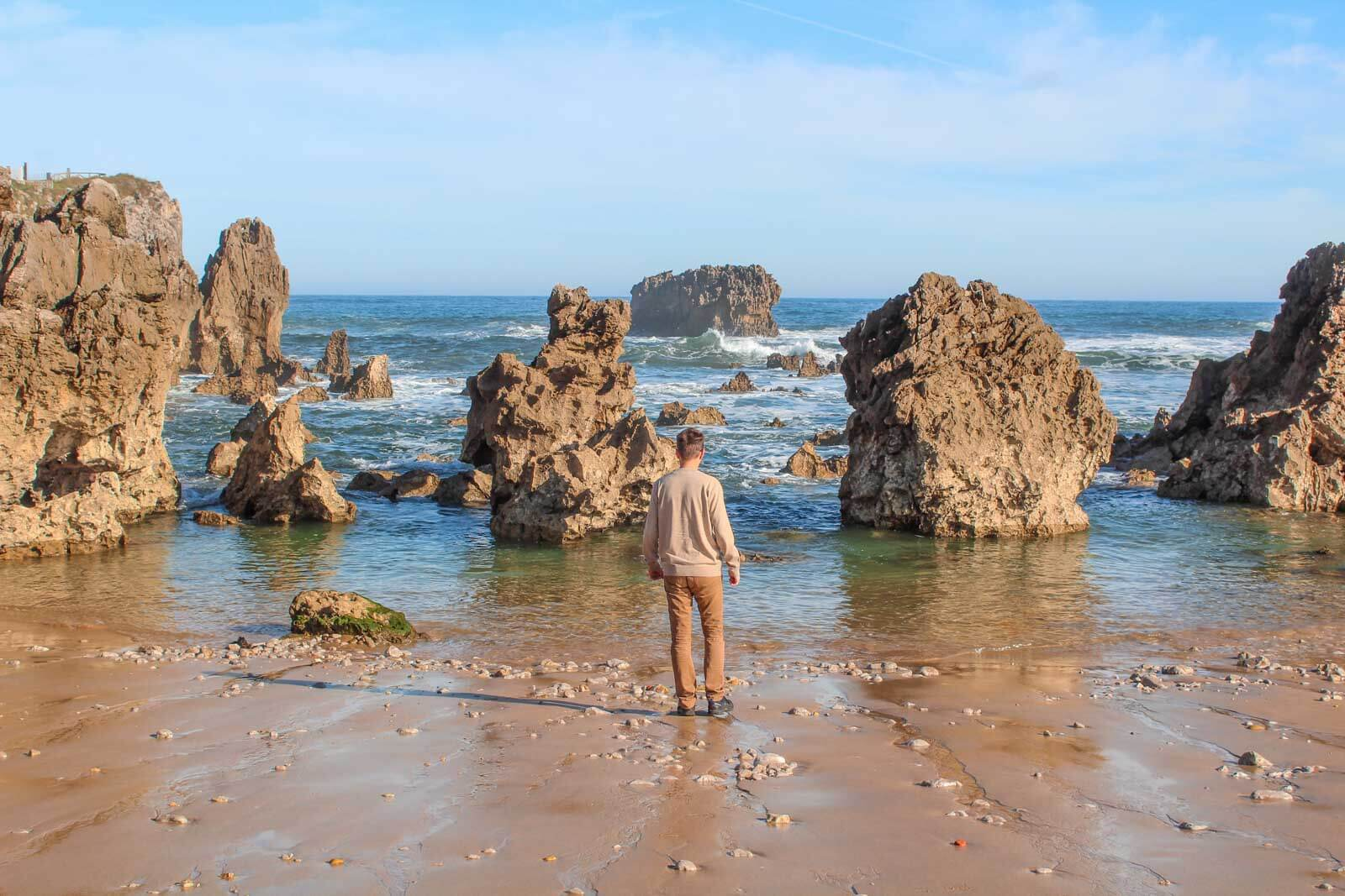 Northern coast of Spain