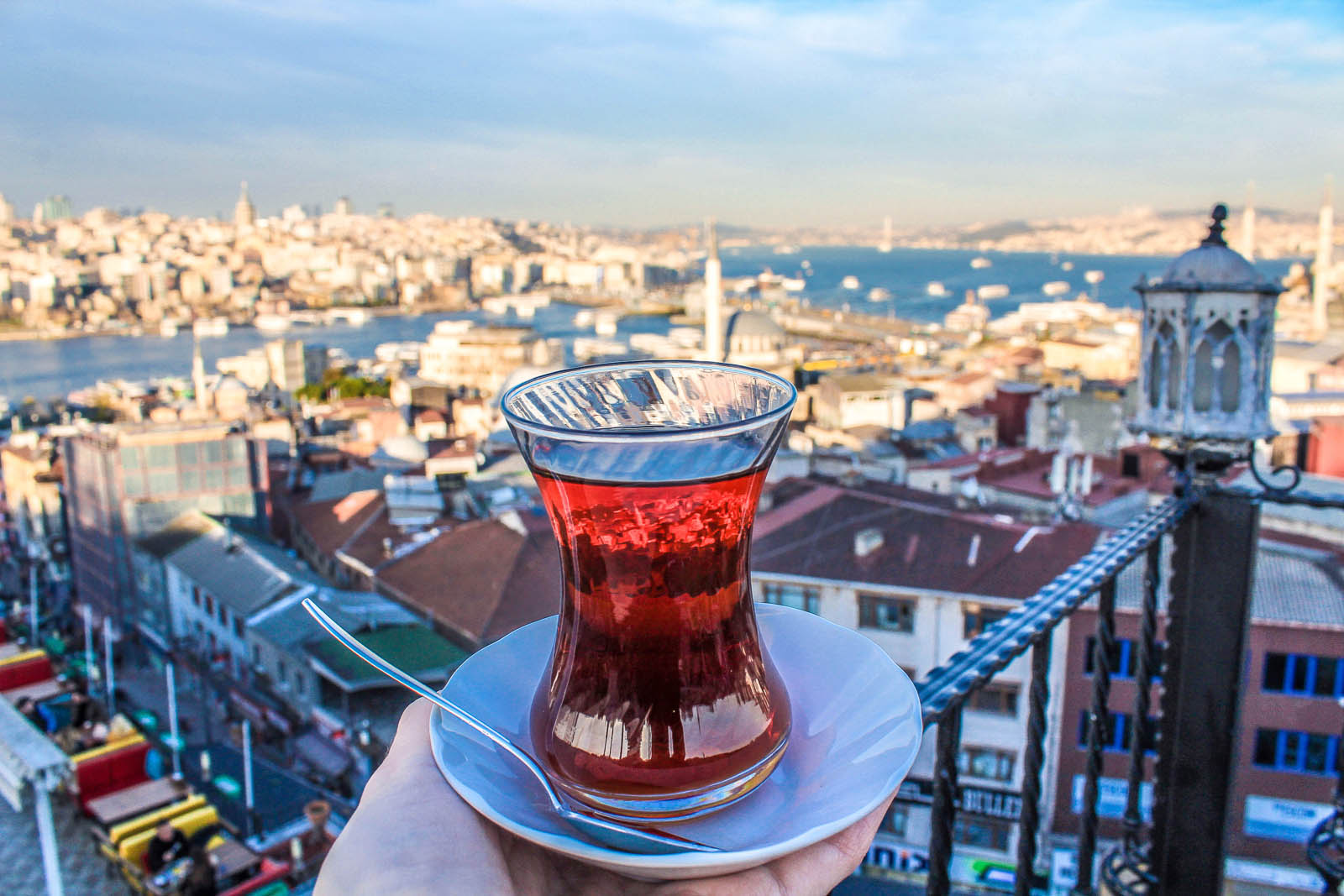places to eat in Istanbul with a view