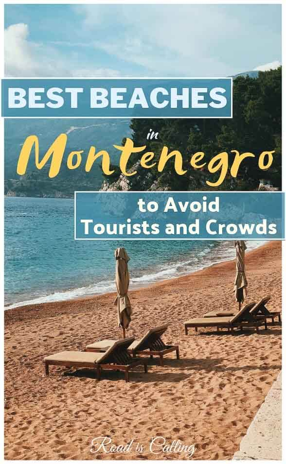 Usually, Montenegro beaches are always overcrowded during the summer. But here are some absolutely dreamy beaches in Montenegro where you will hardly find any tourists and crowds #montenegrotravel #bestofmontenegro #balcanstrip