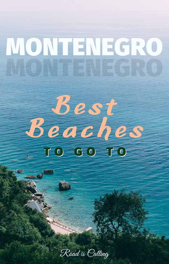 I visited many beaches in Montenegro during the time when I lived there as a digital nomad. So here is a list of my favorite ones where you will be able to avoid crowds and lots of tourists. Make sure to visit at least one of these best beaches along Montenegro coast! #europetravel #summertravel #montenegrotravel #bestofmontenegro