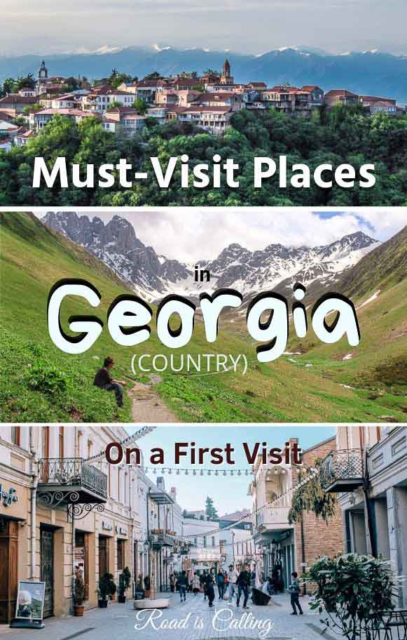 Georgia travel guide: learn what places you should visit and where to go in Georgia Europe if this is your first trip. Definitely, get outside Tbilisi and see the entire Georgia country! #georgiatravel #georgiacountry #georgiaeurope #euopetravel