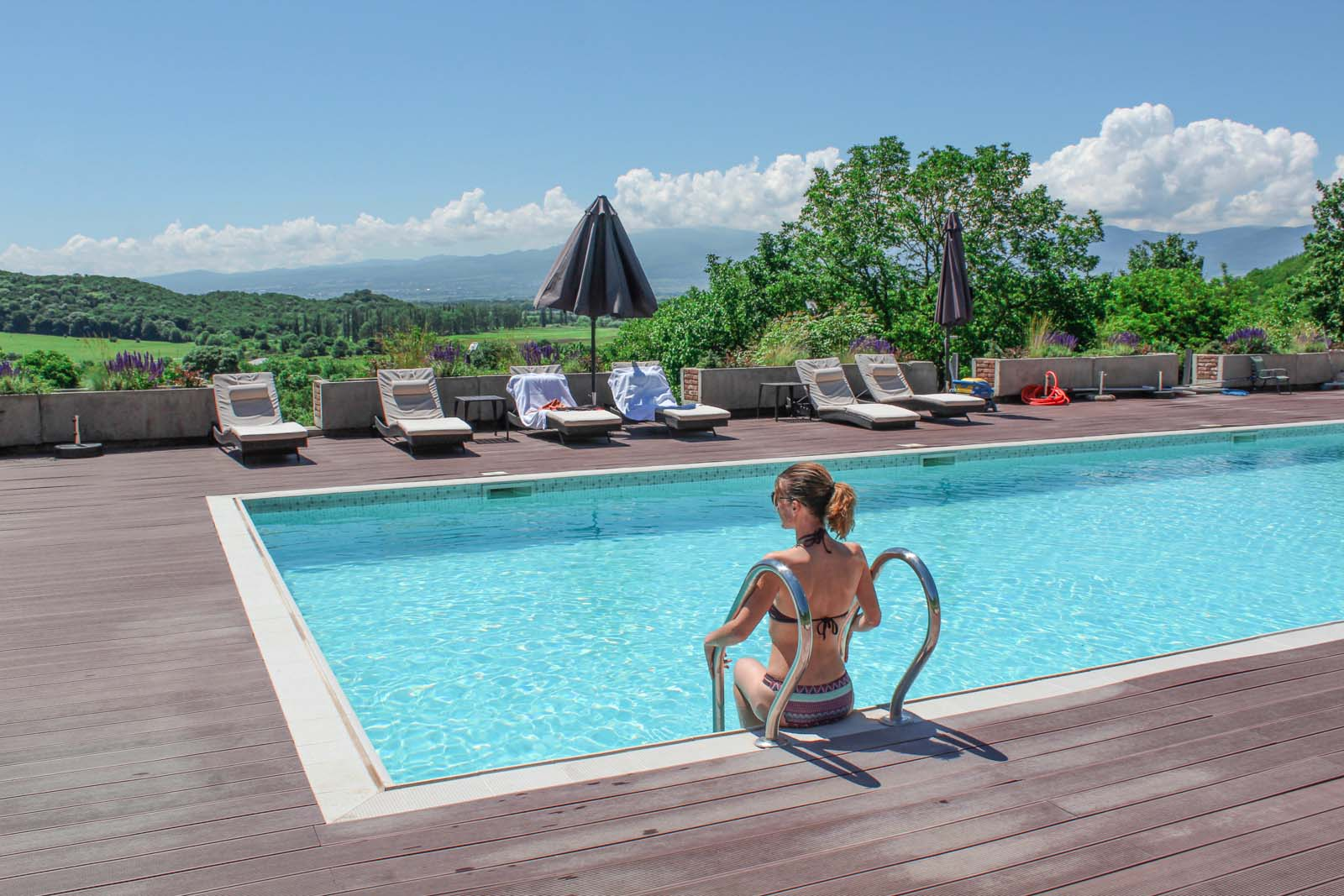 hotels with a pool in Kakheti