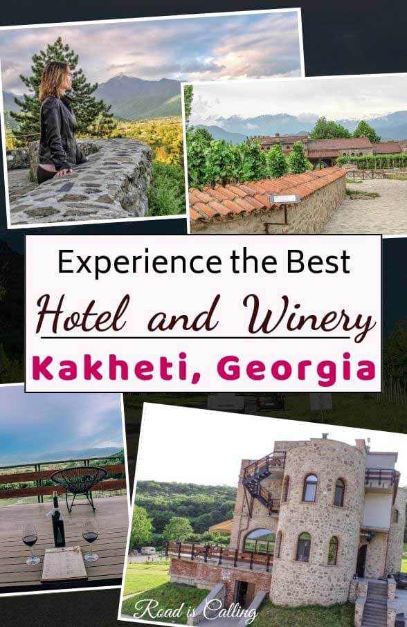 Find out what the best hotel and winery in Kakheti region in Georgia is. When you visit Georgia, definitely go to Kakheti to taste some of the best wines and contemplate some of the best scenery. And during your visit stay at this gorgeous hotel #georgiatravel #bestofgeorgia #caucasus #georgia