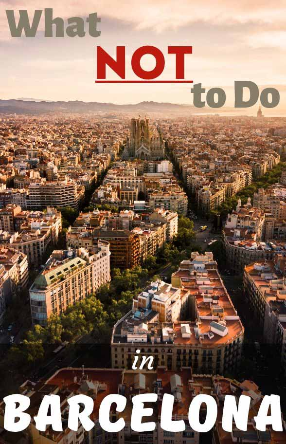 More than 50 vital travel tips for Barcelona to help you plan your trip in the right way, have a beautiful holiday and only the best travel memories. Learn what you shouldn't be doing on your visit to Barcelona #bestofspain #barcelonatravel #catalonia