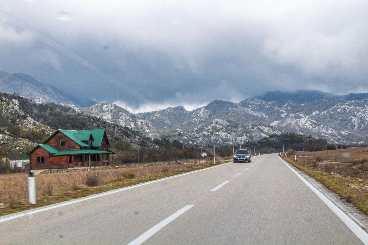 Montenegro in winter