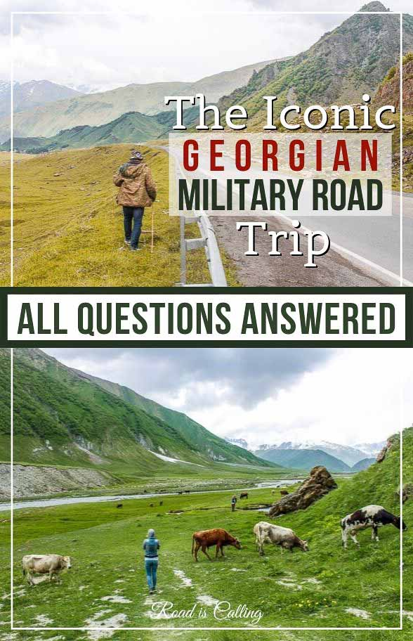 This Kazbegi to Tbilisi travel guide gives answers to questions when is the best time to travel to Kazbegi, what to wear, where to stay, how to get there and what to do. If you are planning to visit Georgia, make sure to add a trip to Kazbegi to your itinerary #georgiatravel #caucasustravel #georgia