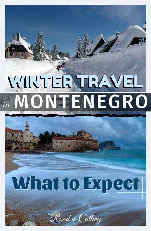Learn what is it like visiting Montenegro in winter. What's the weather like, what to pack, where to go and what to do. Montenegro is a fun destination not only during the summer but in wintertime too! #montenegrotravel #balkanstravel #wintertravel