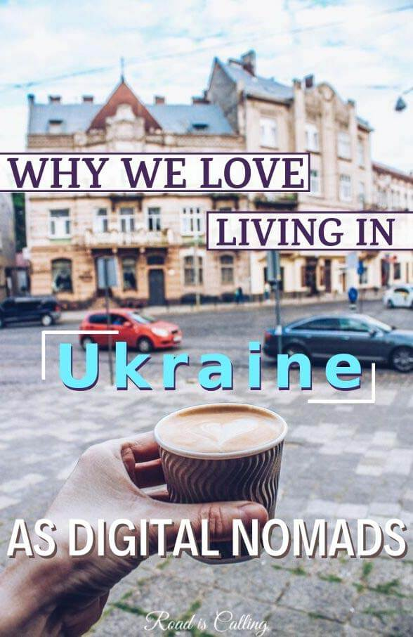 Thinking to move to Ukraine? Read what you can expect from this country! We have been living in Ukraine as digital nomads for quite some time and believe this is a great destination for many people who work online #digitalnomad #ukraine #easterneurope #europe
