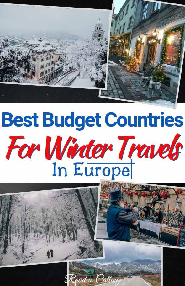 The list of budget winter destinations in Europe with detailed description where to go, what to do and when exaclty in winter to go. Travel in Europe in winter is fun and full of surprises! #wintertravel #cheapdestinations #travelEurope