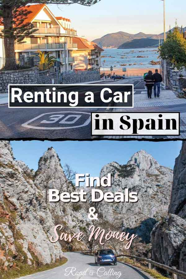 Before you start looking for rental car deals in Spain, read this guide which covers all details on where to hire a car in Spain, how to save money, what to know about driving, rental insurance, traffic laws, hidden costs and more #spaintravel #europetravel #spainbudget