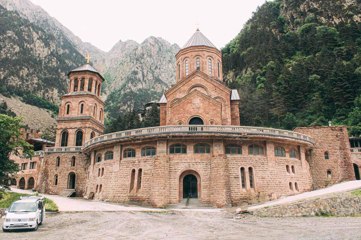 Monastery on Georgia Military Road