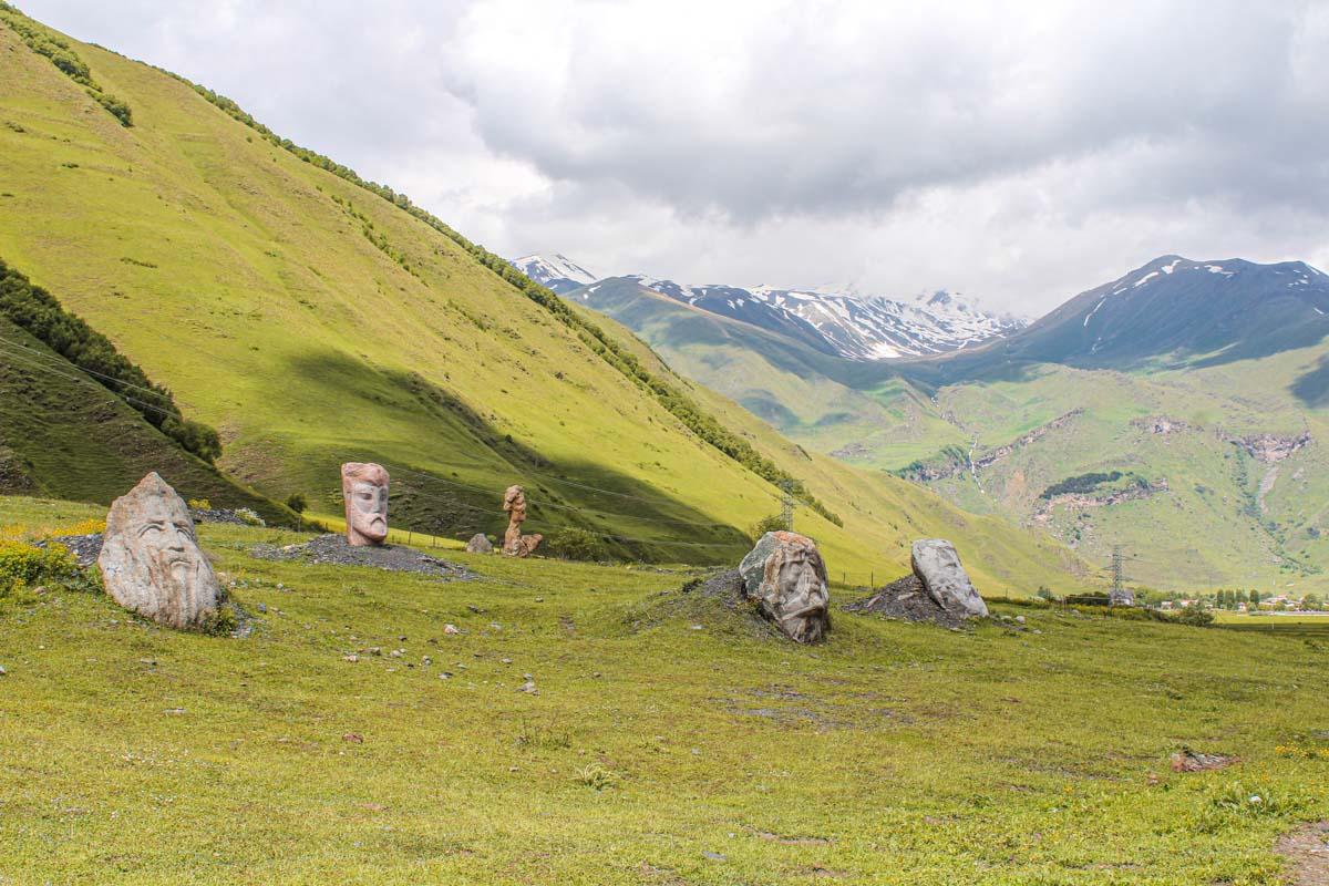 Sno valley Kazbegi