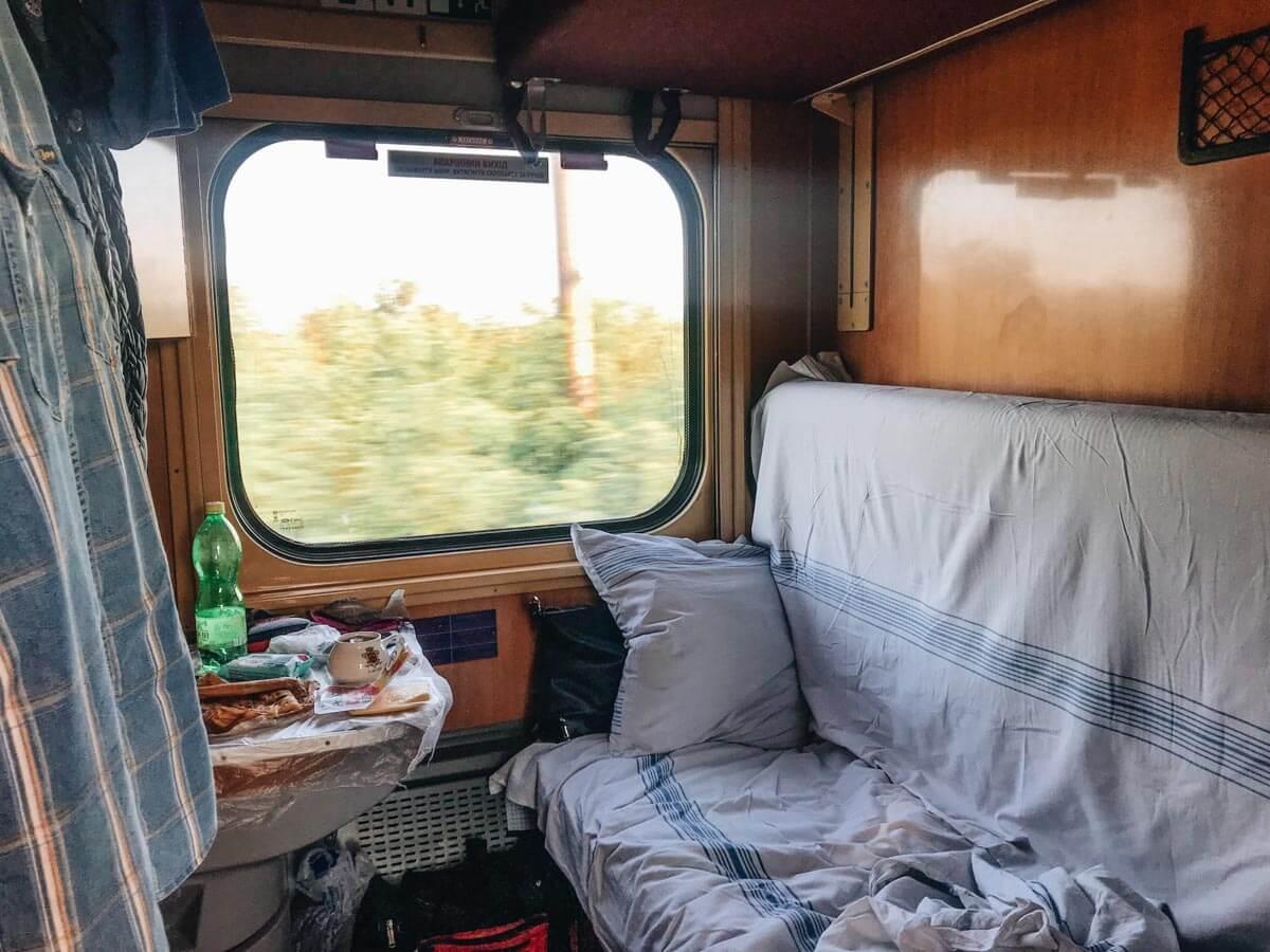 krakow to lviv train travel
