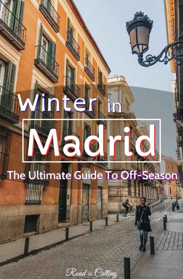 Explore Madrid in winter and discover what places to visit during the off-season, what to skip and how to get the best out of your trip #madridtravel #spaininwinter #madridinwinter