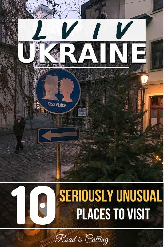 My list with hidden gems and unique places to visit in Lviv for your unforgettable holiday in Western Ukraine #bestoflviv #ukrainetravel #lvivukraine