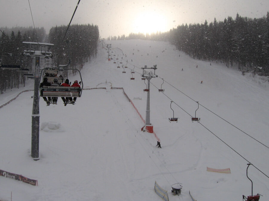skiing in bukovel