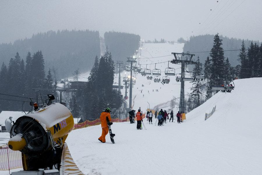 Bukovel ski
